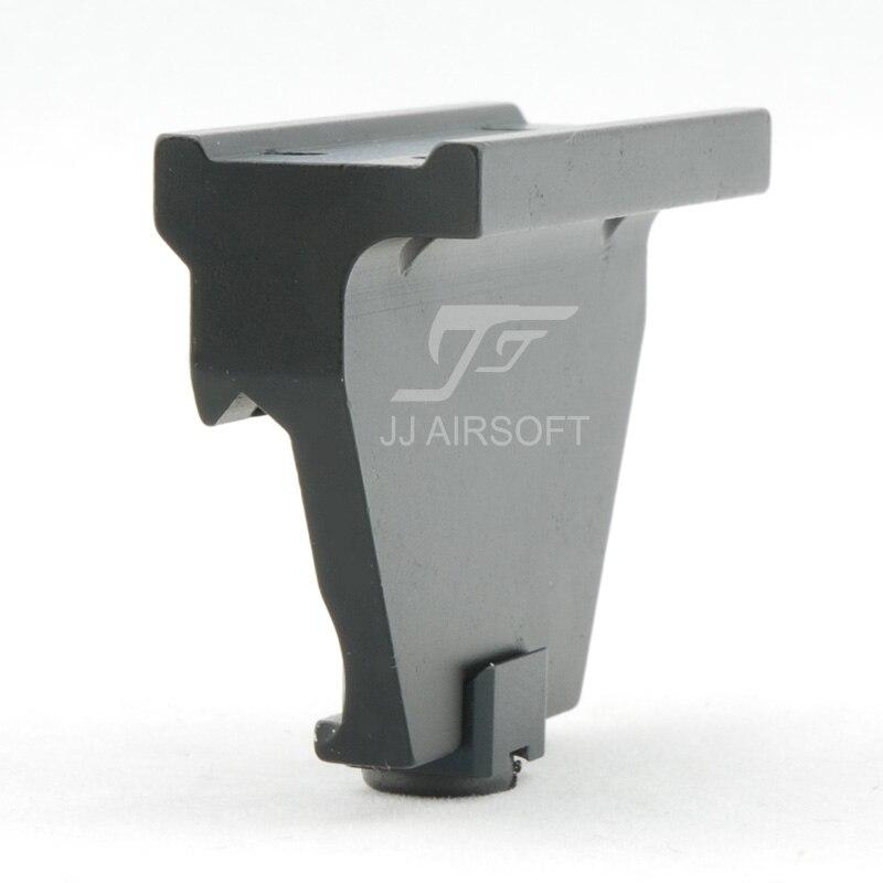 JJ Airsoft KAC montaje de carril Offset para T1/T-1/T2/T-2/TARGET TR02 punto rojo (negro/bronceado)