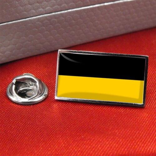 Austria Habsburg bandera Pin para solapa con insignia metal personalizado barato Pin de bajo precio de Pin de epoxi placa