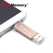 Or Rose Dr. mémoire pendrive 4 gb 8 gb 16 gb 32 gb 2.0 métal OTG stylo Lecteur Pour Samsung S5 usb flash drive S6 Flash Mémoire bâton