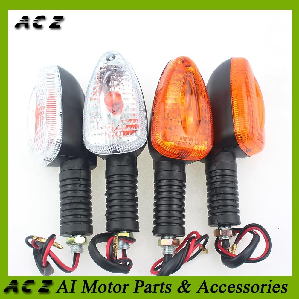 Luces LED de señal de giro para motocicleta ACZ, luces indicadoras intermitentes para BMW R1150GS R1200GS K1200R K1300R