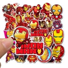 35Pcs Iron man deadpool Super Hero MARVEL Stickers Kids Toy The Avengers Sticker Bomb For Skateboard Luggage Laptop Notebook Car