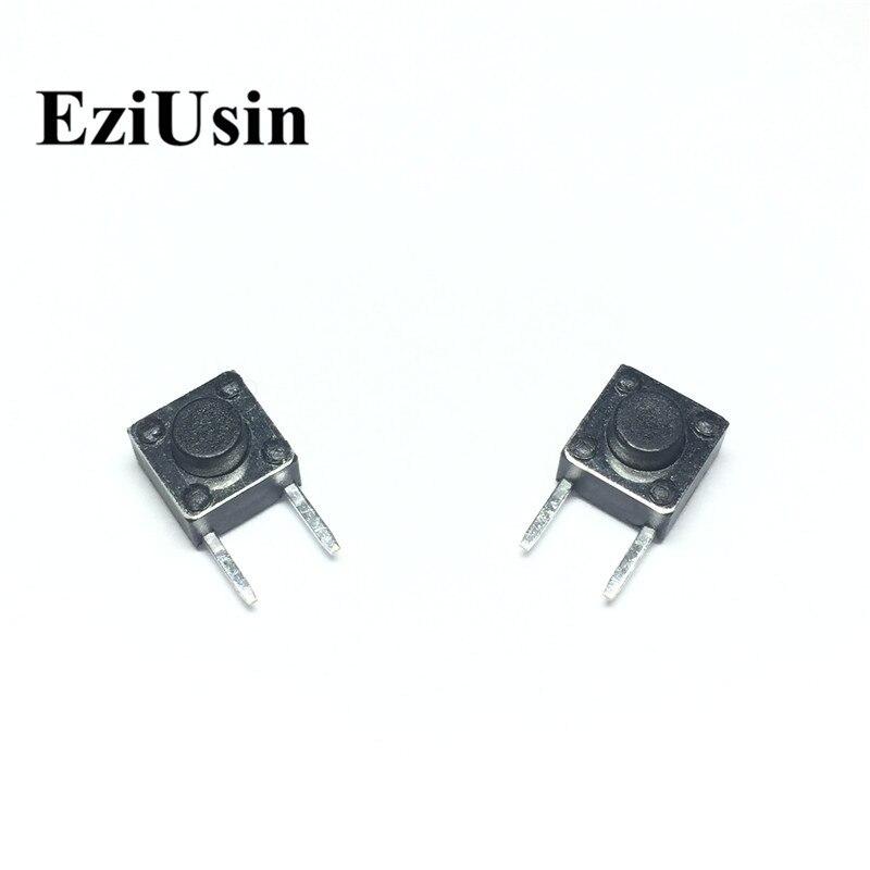 EziUsin 6*6*5 боковых ножек, штырьки, печатная плата клавиатуры, подсветка, сенсорный Микро Переключатель, мини сенсорные кнопки, кнопка перебоев,...