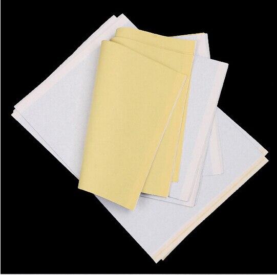 100Pcs/Lot Tattoo Transfer Paper Supply Tracing Copy Body Art Stencil Paper A4