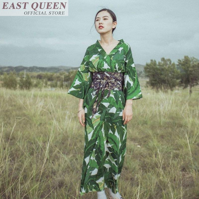 Kimono japonês tradicional quimono feminino 2018 verão casual verde quimono japonês yukata yukata quimono feminino ff606 a