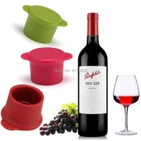 1000pcs silicone bar wine stopper fresh keeping bottle cap flavored beerbeverage kitchen champagne closures