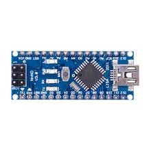 Nano Mini USB с Загрузчиком совместимый контроллер Nano 3,0 Для arduino CH340 USB драйвер 16 МГц Nano v3.0 ATMEGA328P