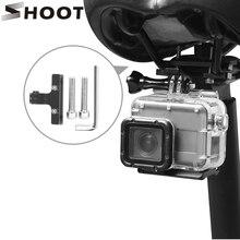 Support de fixation pour coussin de vélo pour GoPro Hero 8 7 6 5 noir Xiao Yi 4K Sjcam Sj8 Pro Dji Osmo Eken H9r accessoire de support de vélo