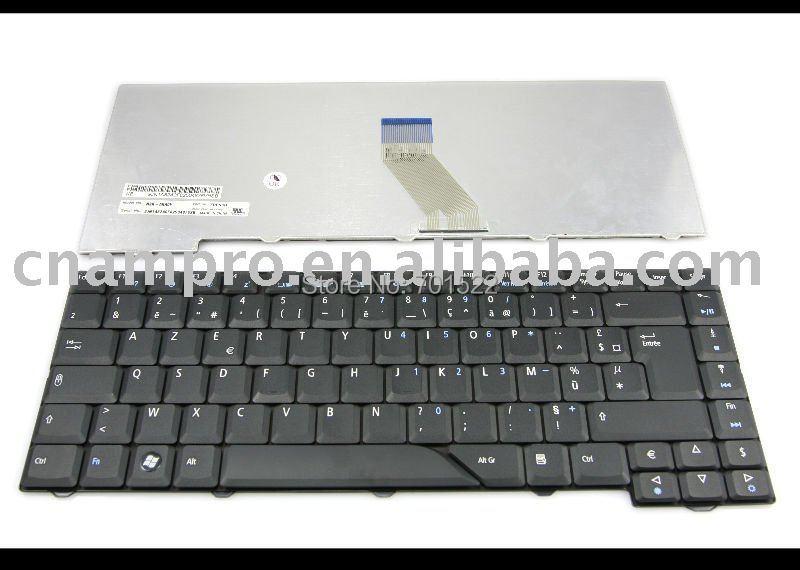 Nuevo teclado del ordenador portátil para Acer Aspire 4330 de 5230 de 5530G 5730G 5930 de 6920 Emachines E510 negro francés FR AZERTY Clavier-NSK-AKA0F