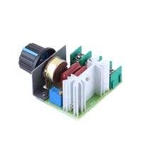 2pcslot 2000w 50 220v adjustable voltage regulator pwm ac motor speed control controller