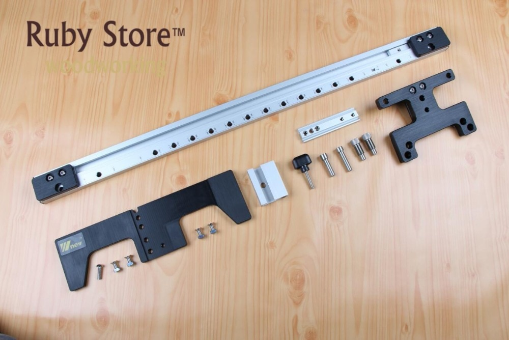 Guía de 750mm para Plantilla de doblez para muebles conexión rápida montaje para cámara con elementos de 90 grados