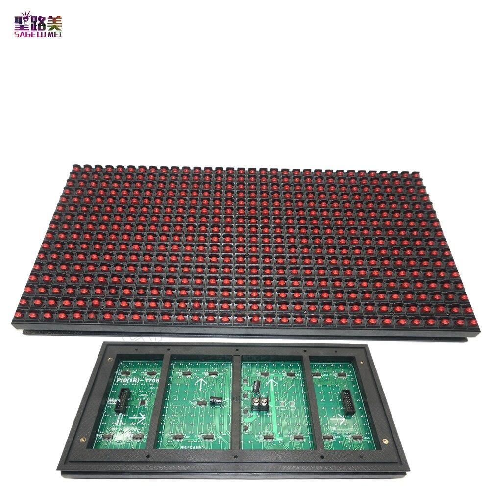 P10 moduł wyświetlacza LED Panel znak na szybę sklep wyloguj drzwi IP65 320*160mm 32*16 pikseli RGB pełny kolor/pojedynczy kolor Matrix DIY