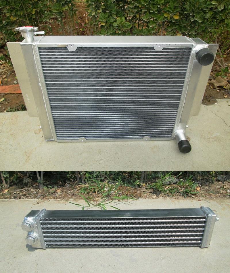 Aluminium Heizkörper OHNE heizung rohr + Aluminium Öl Kühler Für Mazda RX2 RX3 RX4 RX5 Hohe Leistung