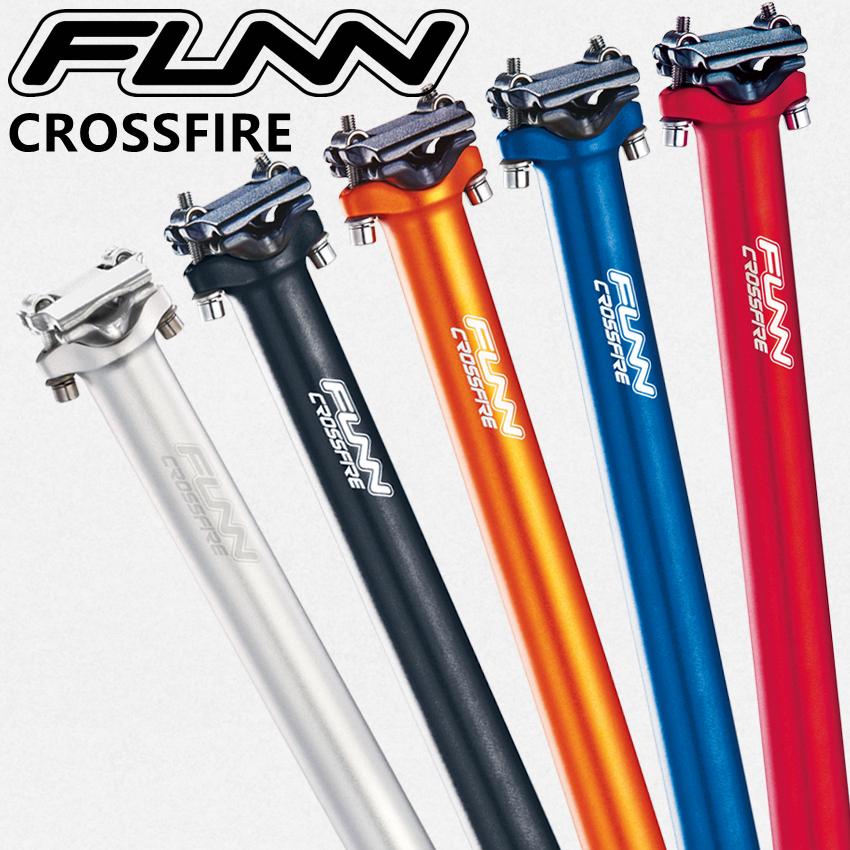 FUNN CROSSFIRE asiento de bicicleta sillín MTB longitud 400mm diámetro 30,9mm 31,6mm