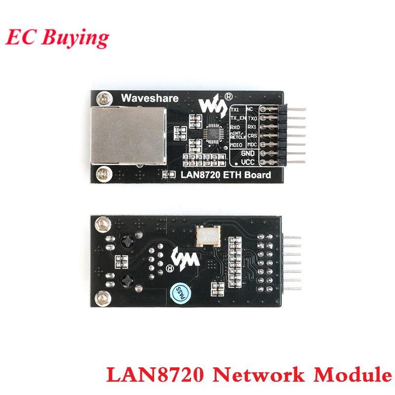 Módulo Placa de Desenvolvimento do Módulo de Rede Ethernet Transceiver Interface RMII LAN8720 Eletrônica Inteligente para Arduino