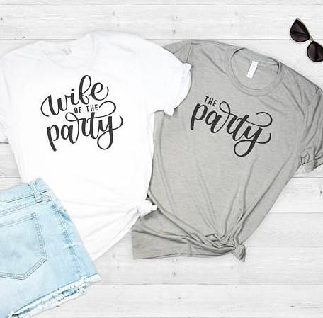 Рубашки Skuggnas для девичника для женщин и мужчин, рубашки для свадебной вечеринки, модные рубашки для свадебной вечеринки, топы, футболки
