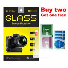 Deerekin de vidrio templado 9H Protector de pantalla LCD para Canon EOS M6 M6 Mark II/EOS M50 (EOS Kiss M) Mirrorless Digital Camera