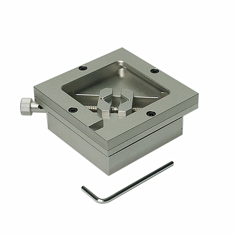 80MM 90MM Silver BGA Reballing Station Stencils Template Holder Foxture Jig For PCB Chip Soldering Rework Repair enlarge