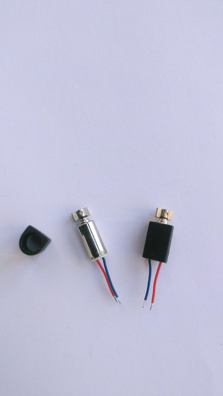 100 unids/lote 4mm x 8mm mini motor vibración Mini para DIY juguete Teléfono/Localizador