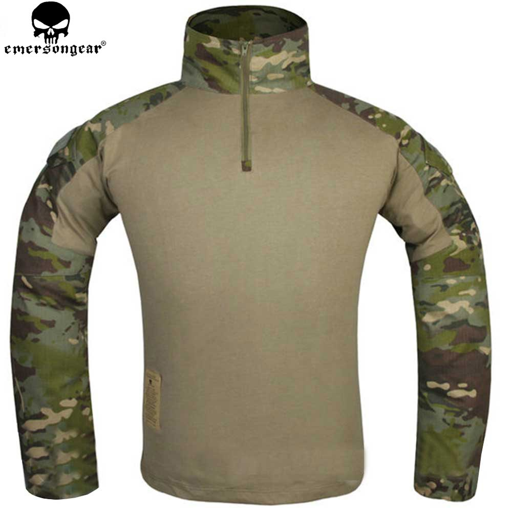 EMERSONGEAR Gen 3 camisa de combate militar táctico camisa de camuflaje militar Airsoft traje Multicam Tropic EM9280