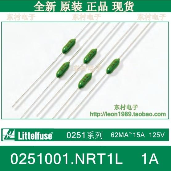 [SA]US special forces Littelfuse fuse fast break resistance 0251001.NRT1L 1A LF 125V--200pcs/lot