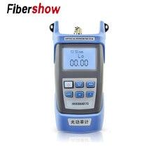 Visuel localisateur de défaut De Fiber Optique de Puissance Optique Testeur de Câble de câble testeur mini OTDR de poche Laser FTTH
