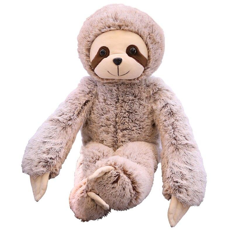 1pc 50cm/70cm Popular Plush Toy Creative Animal Plush Doll Sloth Best Toys For Baby Kids Birthday Gift