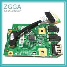 Новая Подлинная USB аудио плата с кабелем для Lenovo V570 B570 B570E B575 Z570 Z575 LB575 кардридер 48.4PA04. 01 55.4PN02. 001
