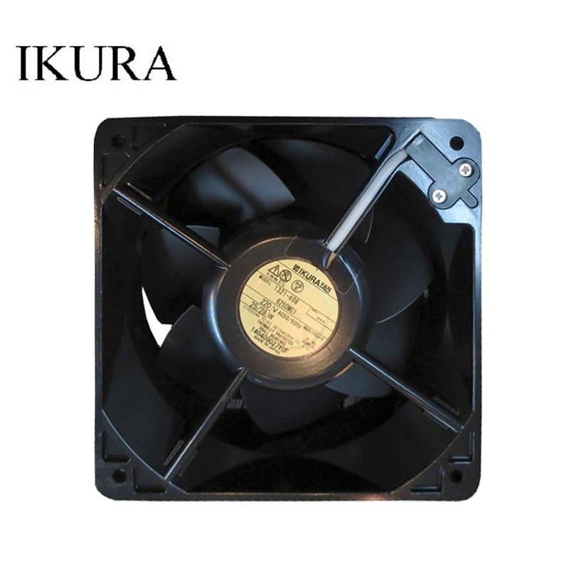 IKURA 6250MG1-TP AC 220V 50/60HZ 160x160x55mm ventilador cuadrado para servidor frecuencia ventilador del convertidor 45W 220V AC ventilador Axial