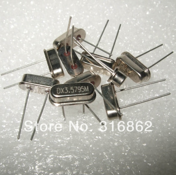 16MHZ 16.000MHZ Passive DIP crystal oscillator HC-49S 50PCS/LOT  Free Shipping Electronic Components kit