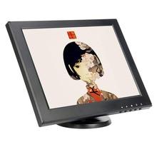 "12"" plastic 1024*768 high resolution pos lcd monitor with AV/BNC/VGA/HDMI/USB interface"