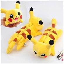 Dessin animé peluche Pikachu encil case Bts Pokemon aller crayon Boutique estuches fournitures scolaires estojo de lapis plumier papeterie
