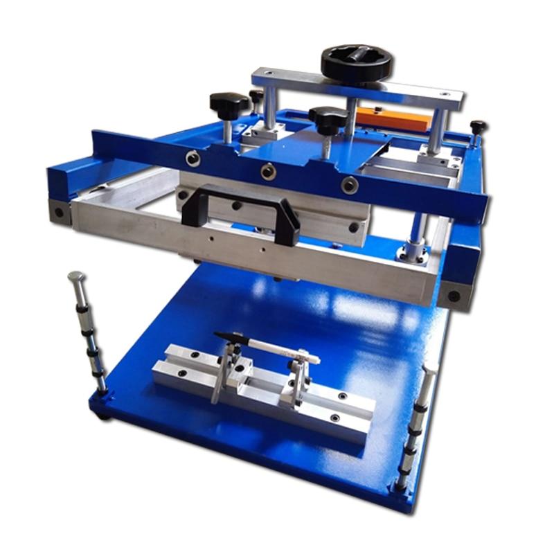 Impresoras de pantalla de superficie curvada Manual botellas/tazas/bolígrafos