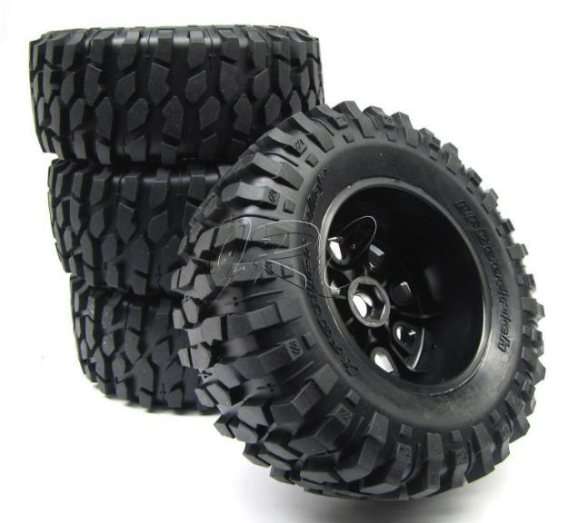 Original Axial 1/8 Off Road RC Desert Buggy Moonster 185MM Tire set for Axial YETI AX90038 90032 RC Car 4pcs