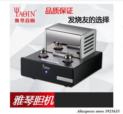 Amplificador de tubo de válvula de MS-23B YAQIN Phono Stage MM RIAA giradiscos estéreo HiFi MS23B tubo de vacío preamplificador 110-240V