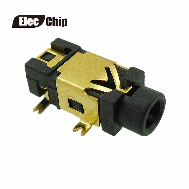 10pcs 2.5mm Audio Jack phone jack female connector PJ-209 gold-plated 5pin for bluetooth speaker PJ209