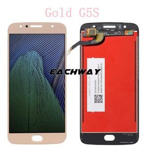 """Image 4 - Оригинальный ЖК дисплей для Motorola Moto G5S PLUS ЖК дисплей G5S XT1792 ЖК сенсорный экран дигитайзер 5,2 """"для Motorola Moto G5S ЖК дисплей"""