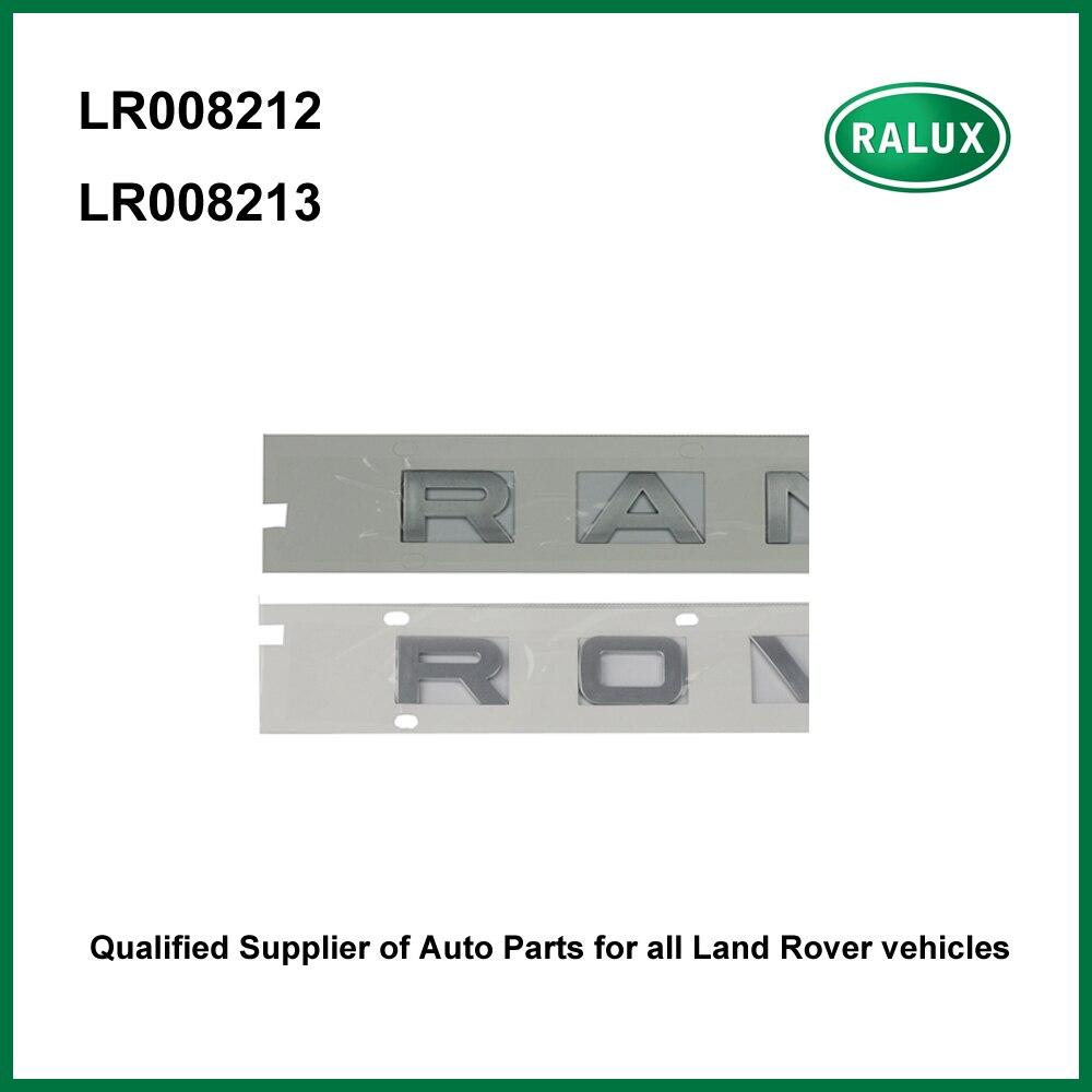 Автомобильные наклейки LR008212 LR008213 для Range Rover 02-09/10-12, Фирменные наклейки на заднюю панель автомобиля, запасные части, поставка из Китая