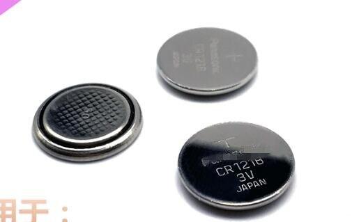 Pilas de botón 100 Uds CR1216 botón 3V pila de botón de litio Original de importación 25MAH pilas para reloj de cuarzo