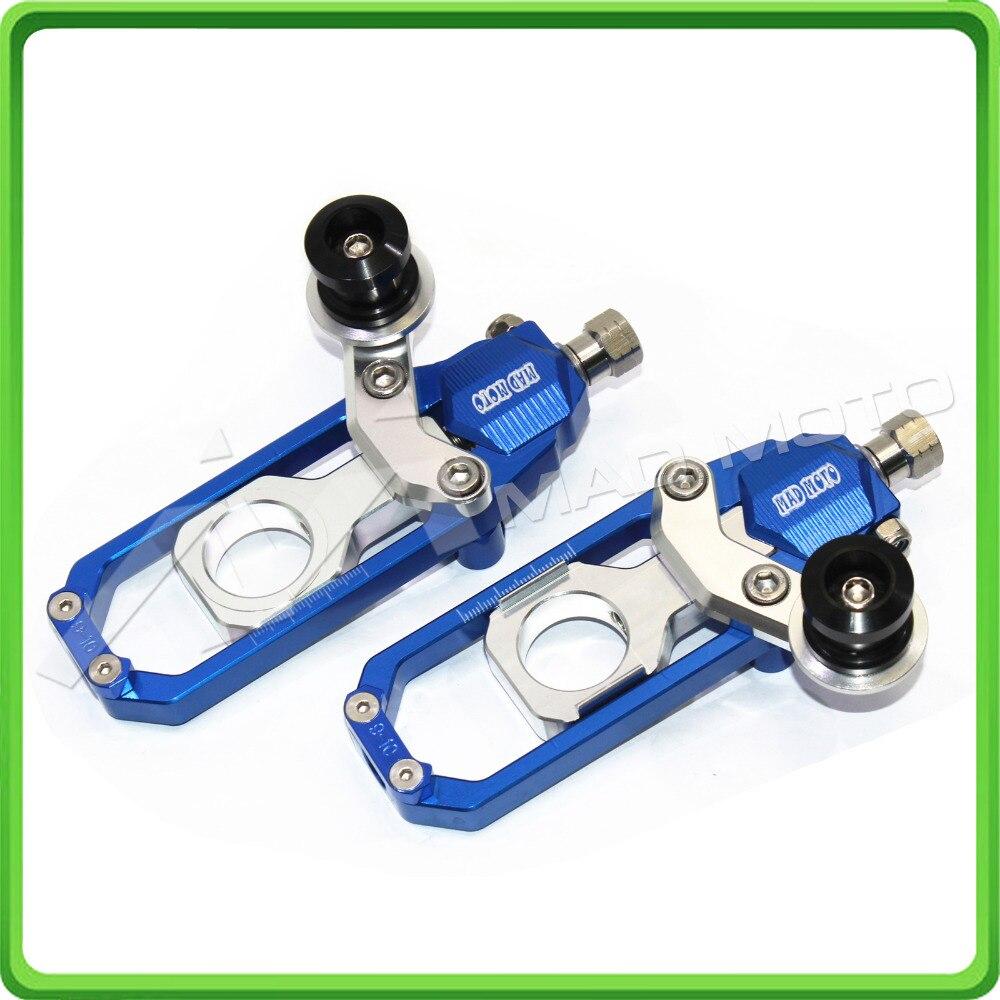 Chain Tensioner Adjuster with bobbins for HONDA CBR 1000 RR CBR1000RR 2008 2009 2010 2011 2012 2013 2014 2015 2016 Blue&Silver