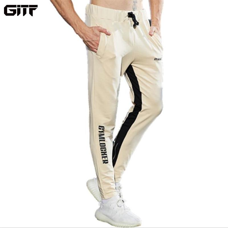 Штаны для бега GITF 2019, штаны для бега, мужские повседневные спортивные штаны, спортивная одежда, мужские дышащие тренировочные спортивные шт...