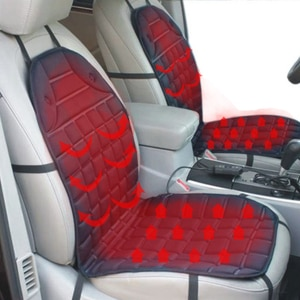 Car heated seat cushion car seat cushion electric heating cushion general double 12v winter car seat cushion