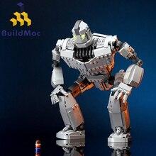 Новый робот MOC, железный робот, городской фигурки, гигантская модель, строительные блоки, кирпичи, детские игрушки, подарок на день рождения для мальчиков