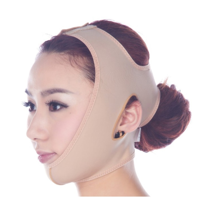 Adelgazamiento facial máscara delgada antiarrugas cuidado de la salud cinturón V Chin Lift Up Correa vendaje Delgado pérdida de peso belleza Mask