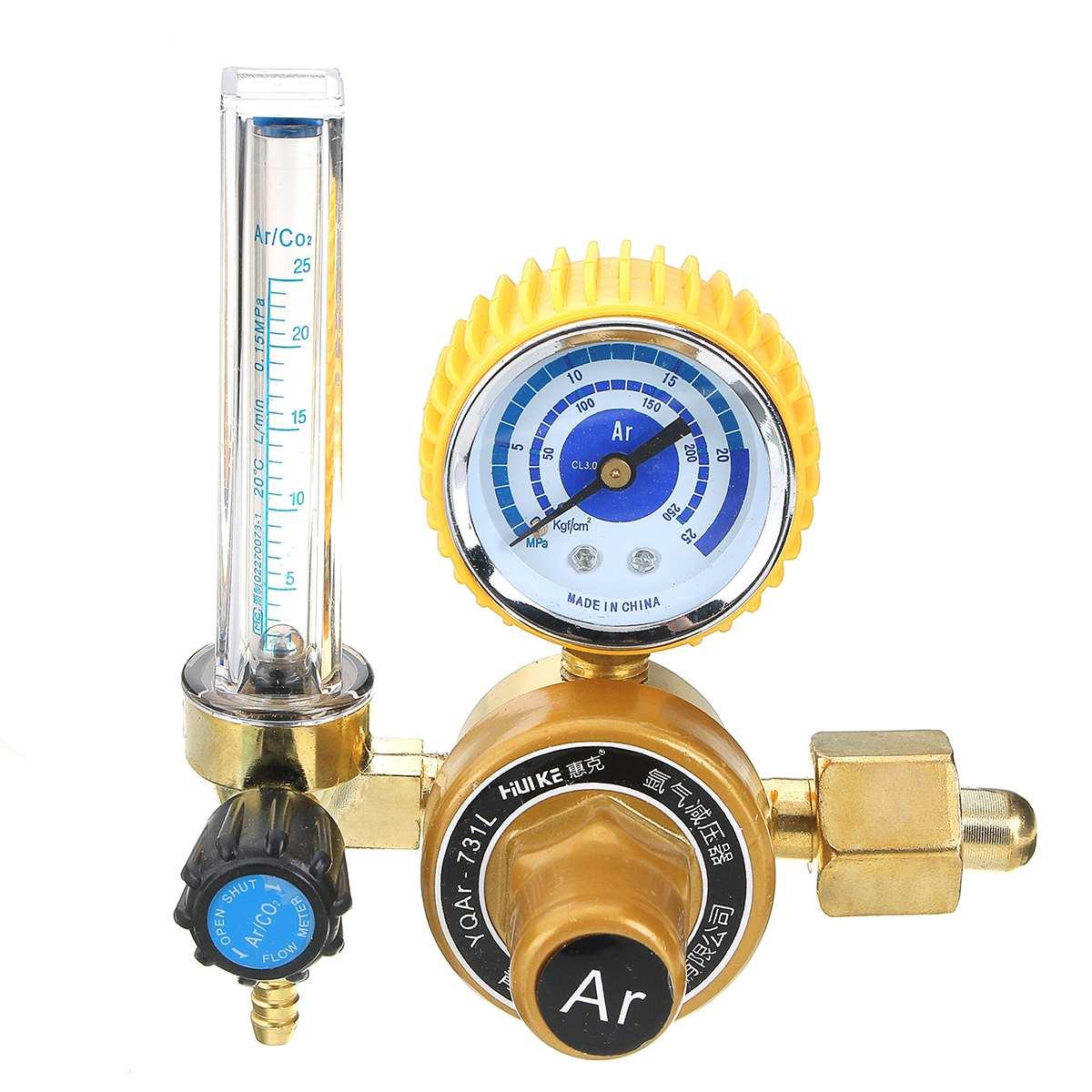 """G5/8 """"0-25Mpa аргоновый расходомер CO2 давление Регулятор газа-потока AR редуктор давления газовый расходомер аргоновый регулятор давления"""