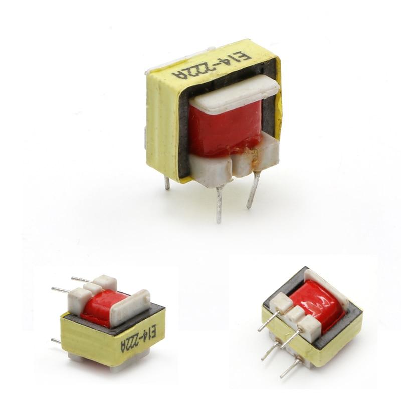 5 uds 1300: 8 audio ohm Transformador EE14 Transformateur POS Transformador