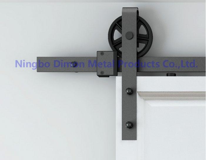 Frete grátis dimon pendurado diâmetro da roda 120mm estilo américa venda quente bom modelo de porta deslizante ferragem DM-SDU 7210