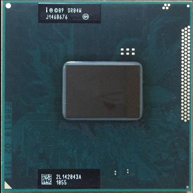 Intel Core i5 2430M i5-2430M SR04W 2,40 GHz Dual-Core-Laptop PC CPU Prozessor Sockel G2 988pin können arbeit