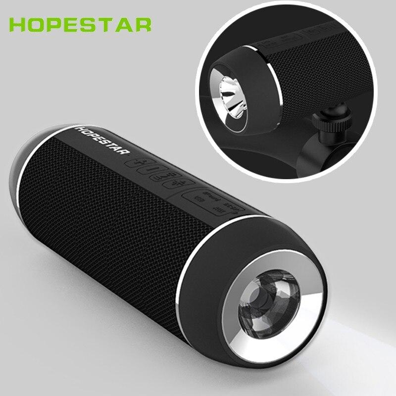 HOPESTAR-Altavoz portátil P11 con Bluetooth, resistente al aire libre, inalámbrico, Subwoofer, bajo,...