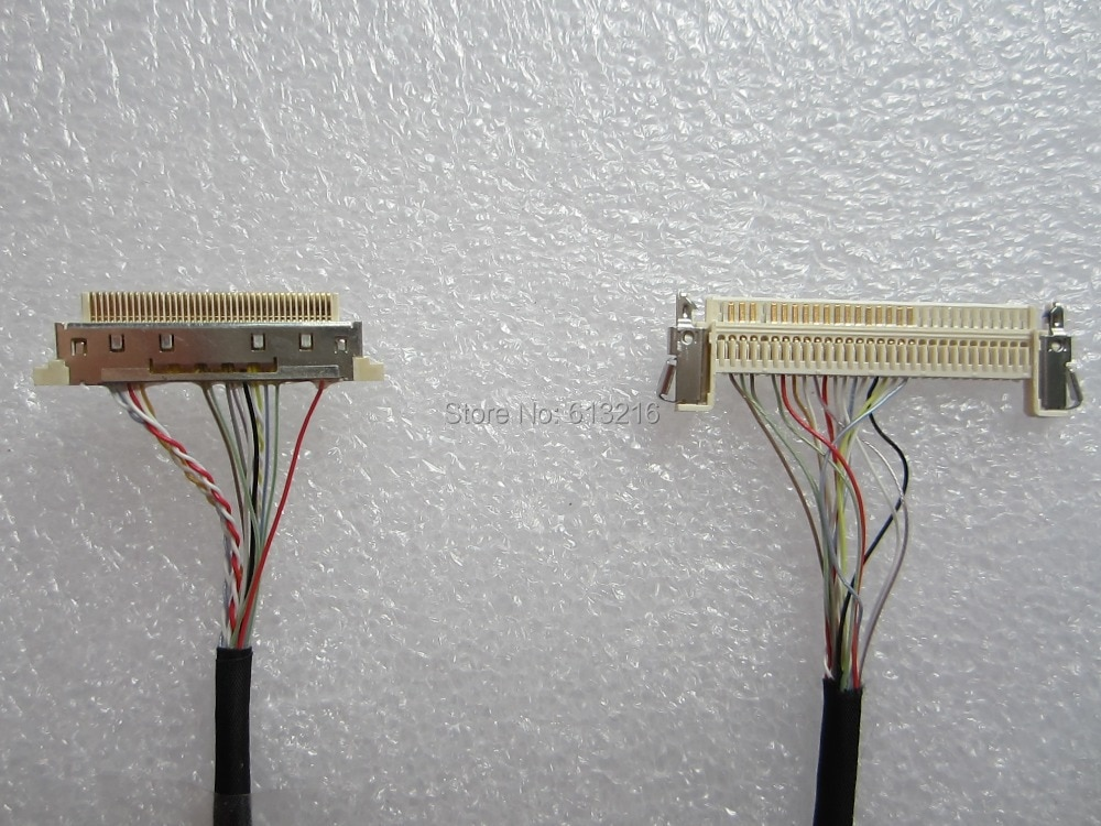 LVDS LCD Panel cable for DN2800MT/D2700MT/ DH61AG/ DQ77KB/ D2500CC Mini-ITX motherboard enlarge