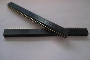 Envío Gratis 50 piezas 2,54mm 2x40 Pin hembra de doble fila